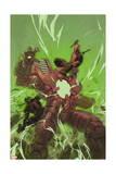 Thunderbolts 9 Cover: Deadpool, Venom Art by Julian Totino Tedesco