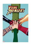 Young Avengers 12 Cover: Avengers (General) Prints by Jamie McKelvie