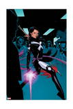 X-Men 3 Cover: Psylocke Art by Olivier Coipel