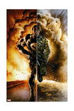 Punisher: Nightmare 1 Cover: Punisher Posters by Mark Texeira