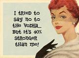 No to Vodka - Metal Tabela