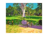 Cricket Match, St George, Granada, 2011 Giclee Print by Andrew Macara