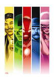 Iron Man 12 Cover: Iron Man, Stark, Howard, 451, Dugan, Dum Dum, the Bear Prints by Greg Land