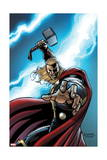 Thor: Crown of Fools 1 Cover: Thor Posters by Andrea Di Vito