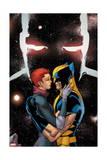Astonishing X-Men 61 Cover: Grey, Jean, Wolverine Prints by Giuseppe Camuncoli