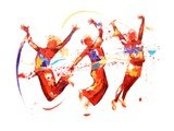 Energy Giclee Print by Penny Warden