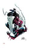 Superior Spider-Man 18 Cover: Spider-Man, Spider-Man 2099 Art by Ryan Stegman