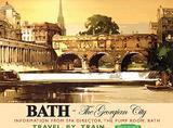 Bath Tin Sign