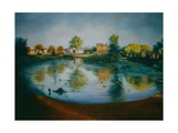 Barnes Pond, 2006 Giclee Print by Lee Campbell