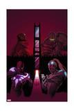 Infinity: Heist 3 Cover: Whiplash, Blizzard, Captain Atlas, Spymaster Posters by Al Barrionuevo