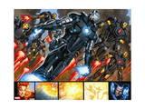 Iron Man 20 Figure: War Machine, Iron Man Poster by Joe Bennett
