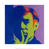 Andy Warhol - Self-Portrait, 1966 Digitálně vytištěná reprodukce