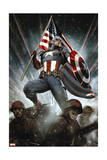 Captain America: Living Legend 1 Cover: Captain America Poster by Adi Granov