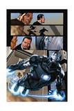 Iron Man 20 Figure: War Machine, Stark, Tony Posters by Joe Bennett