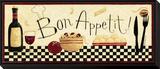 Bon Appetit Framed Print Mount by Dan Dipaolo