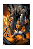 Fantastic Four 12 Cover: Invisible Woman, Mr. Fantastic, Human Torch, Thing Posters by Mark Bagley