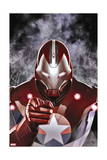 Ultimate Comics Ultimates 19 Cover: Iron Patriot Art by Adi Granov