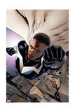 Mighty Avengers 3 Cover: Blue Marvel Prints by Greg Land