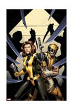 Wolverine 11 Cover: Pryde, Kitty, Wolverine Prints by Alan Davis