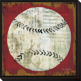 Ball I Framed Print Mount by Mo Mullan