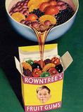 Rowntrees Fruit Gums Plaque en métal