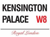 Kensington Palace Tin Sign