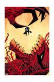 Venom 33 Cover: Venom, Toxin Print by Declan Shalvey