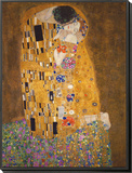 The Kiss, c.1907 Framed Print Mount by Gustav Klimt