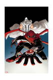 A+X 14 Cover: Magneto, Spider-Man Prints by David LaFuente