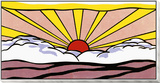 Sunrise, c.1965 Framed Print Mount by Roy Lichtenstein