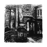 Savoy Shadows, Study for Savoy Interior, 2010 Giclee Print by Lee Campbell