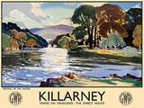 Killarney Tin Sign