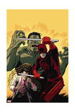 Indestructible Hulk 10 Cover: Daredevil, Hulk, Banner, Bruce Posters by Paola Rivera