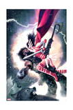 Journey into Mystery 647 Cover: Sif, Einhar Poster by Jeff Dekal