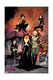 X-Men 1 Cover: Jubilee, Pryde, Kitty, Summers, Rachel, Rogue, Storm, Psylocke Prints by Olivier Coipel