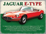Jaguar 'E' Type Tin Sign