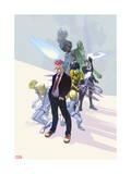 Infinity: the Hunt 3 Cover: Kid Omega, Striker, Tong, Turg, Mik, Loch, Asha, Shri Posters by Slava Panarin