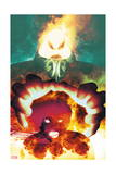 Uncanny X-Men 6 Cover: Dormammu, Magik Posters by Frazer Irving
