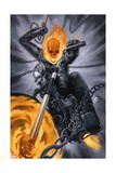 Thunderbolts 20 Cover: Ghost Rider Prints by Julian Totino Tedesco