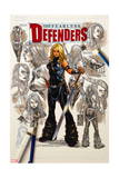 Fearless Defenders 8 Cover: Valkyrie Prints by Mark Brooks