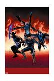 Uncanny Avengers 10 Cover: Sentry, Daken, Banshee, Grim Reaper Prints by John Cassaday