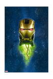 Iron Man 5 Cover: Iron Man Poster by Greg Land