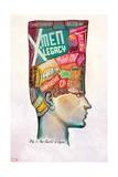 X-Men Legacy 9 Cover: Legion Prints by Mike Del Mundo