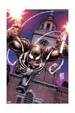 Venom 28 Cover: Venom Poster by Shane Davis