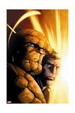 Fantastic Four 8 Cover: Thing, Grimm, Ben Posters by Mark Bagley