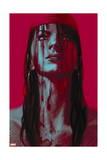 Thuderbolts 11 Cover: Elektra Prints by Julian Totino Tedesco