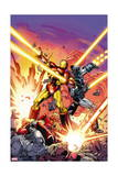 Iron Man 258.4 Cover: Iron Man, War Machine Posters by Dave Ross