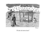 """I'll take the bottom bunk."" - New Yorker Cartoon Premium Giclee Print by Zachary Kanin"