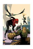 Superior Spider-Man Team-Up 6 Cover: Spider-Man, Vulture, Electro, Mysterio, Chameleon, Sandman Prints by Paolo Rivera