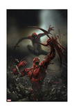 Superior Carnage 4 Cover: Spider-Man, Carnage Print by Clayton Crain